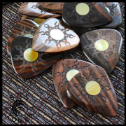 Sun Tones - Pack of 4 Guitar Picks | Timber Tones